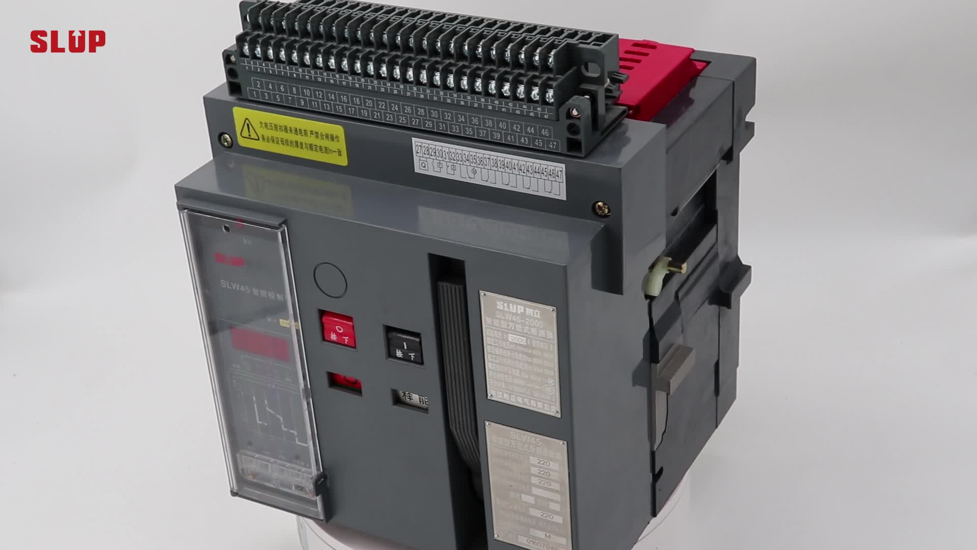 SLW45 Type acb Intelligent Universal 630A air circuit breaker 1250a 2000a