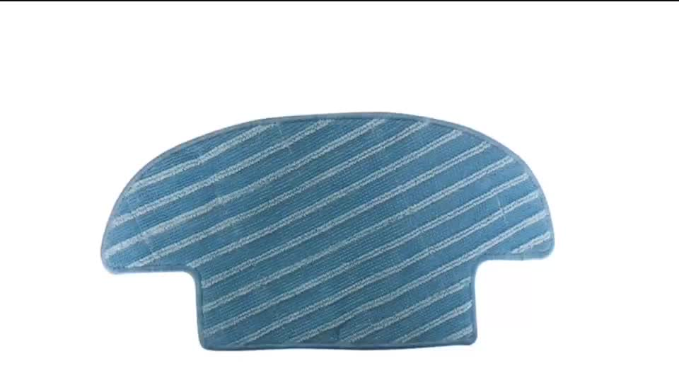 Washable Microfiber Mop Pads for Ecovacs TCR-S / TCR - S2 / D36A Robot Vacuum Cleaners
