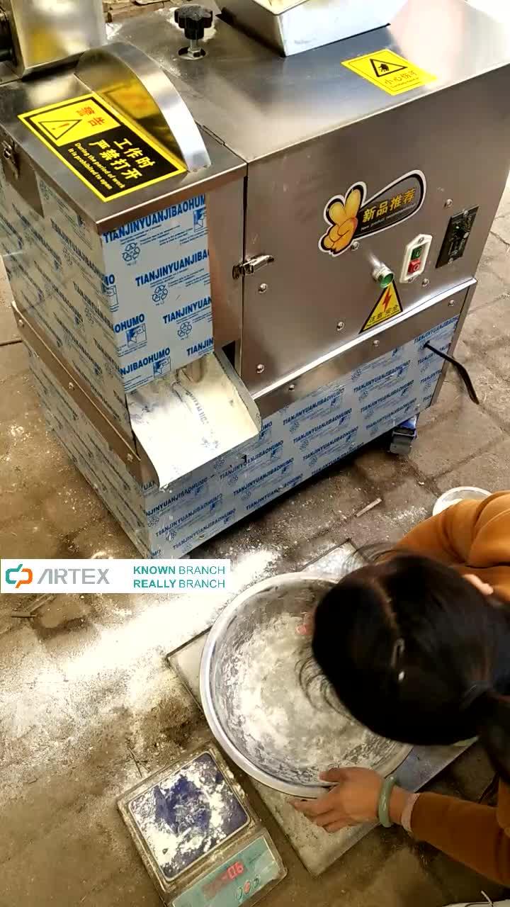 150 kg/h automatique en acier inoxydable pain pizza diviseur de pâte plus rond coupe-pâte machine de découpe