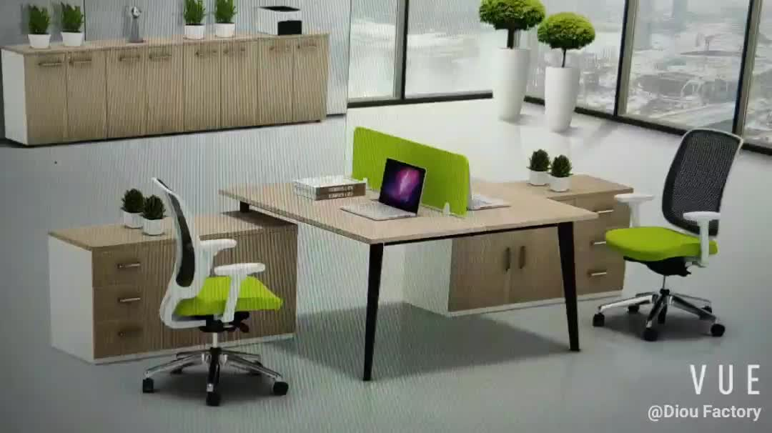 2 person office desk Of office side table Of Staff Table Of Employee Desk