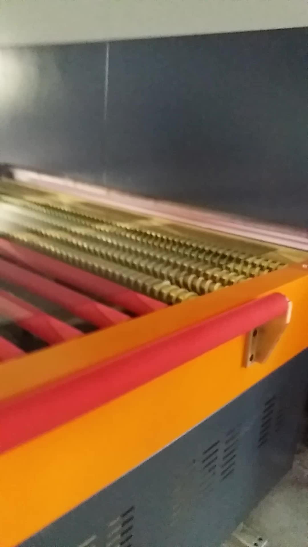 Aquecimento duplo-câmara de forno de têmpera de vidro plano