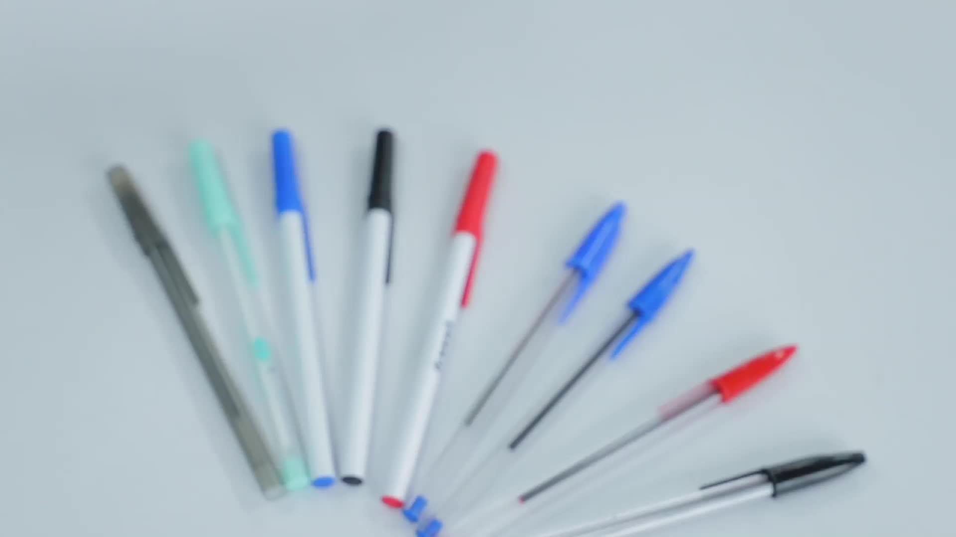 No della novità di plastica boligrafo penne penna a sfera