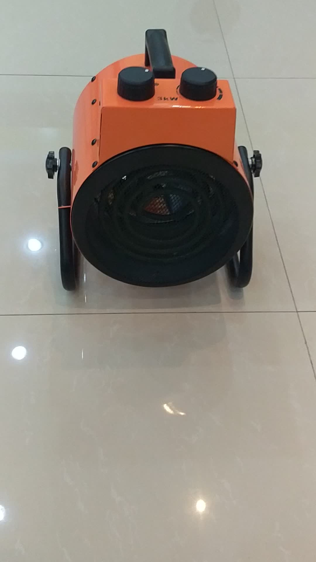 3000 W/3kW औद्योगिक प्रशंसक हीटर बिजली