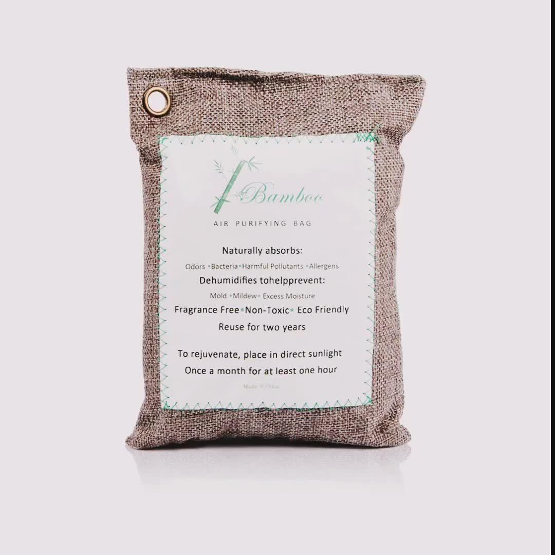 Bamboe Houtskool/Activated Carbon Luchtzuiverende Tassen/Verfrissing Geur Absorber Deodorants Voor Kasten