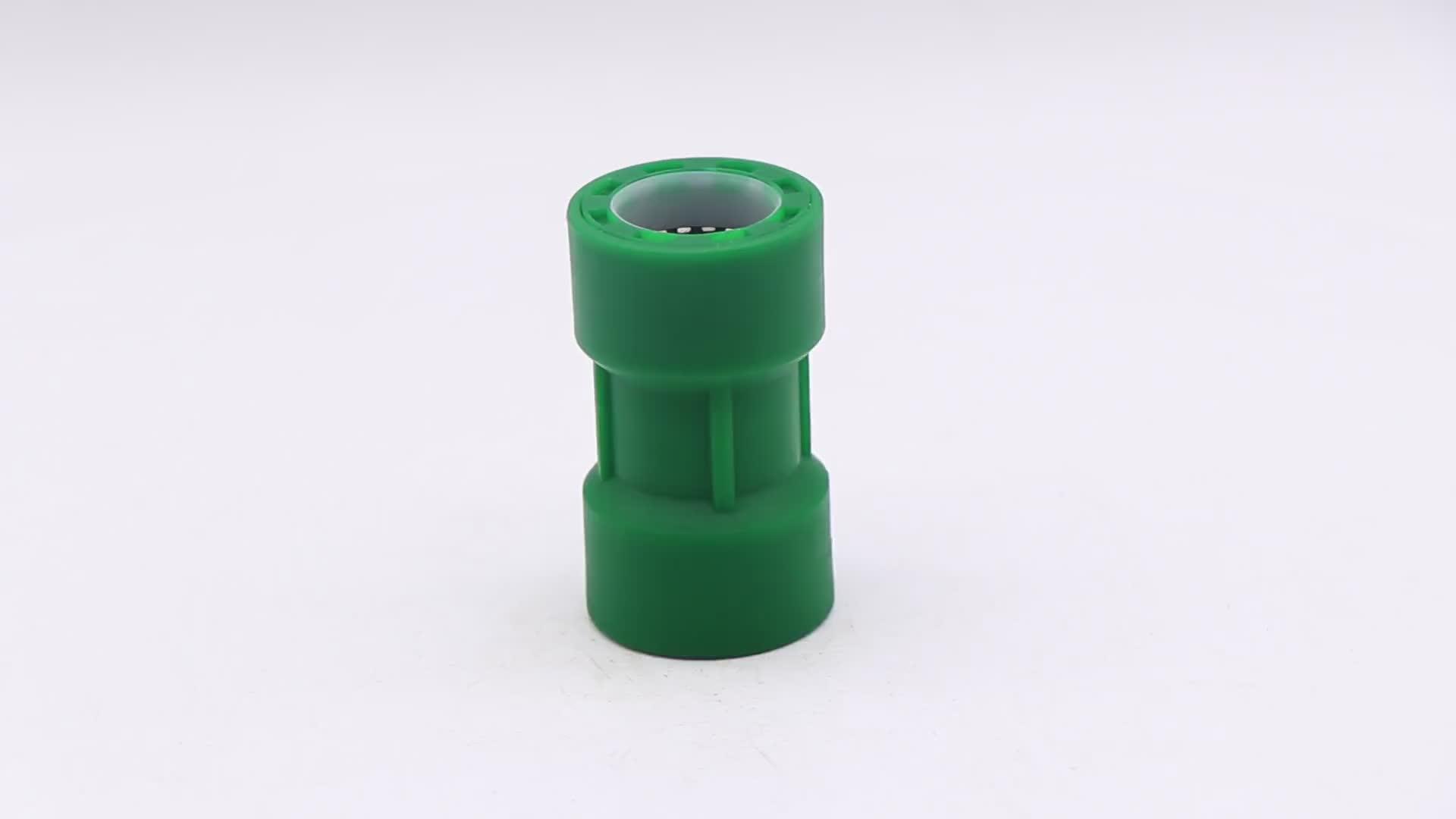 Accesorios de tubería de plástico conexión rápida conexión de tubería de agua