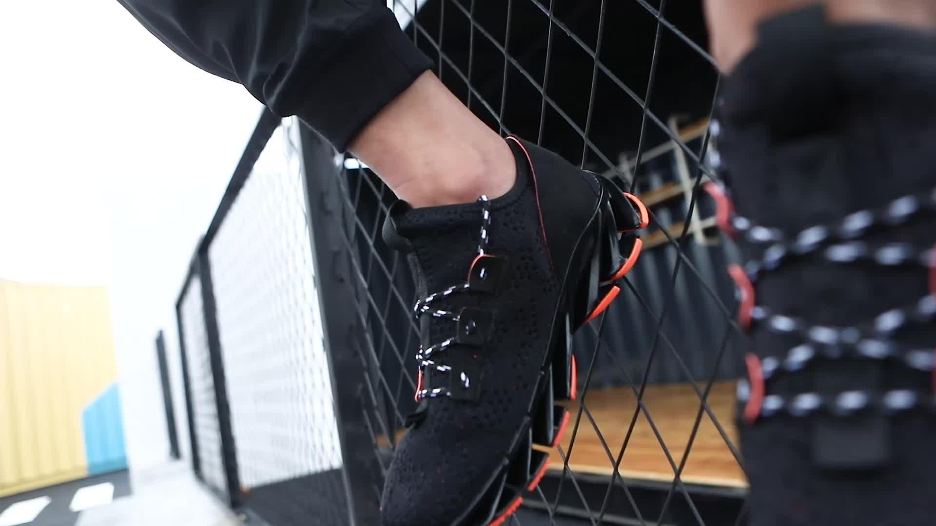 새로운 디자인 브랜드 성능 남성 운동화 봄 실행 블레이드 공기 신발