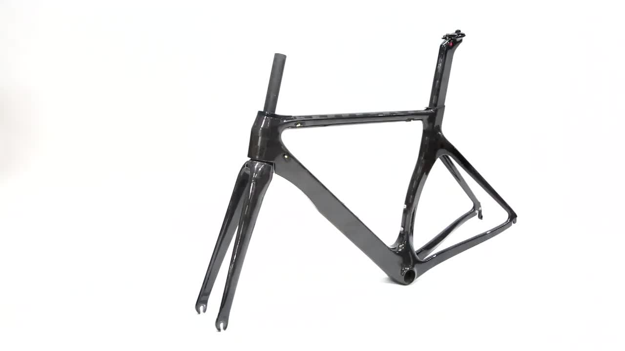 Chinese bicycle 700C bici  full carbon fibre road  gravel bike frame