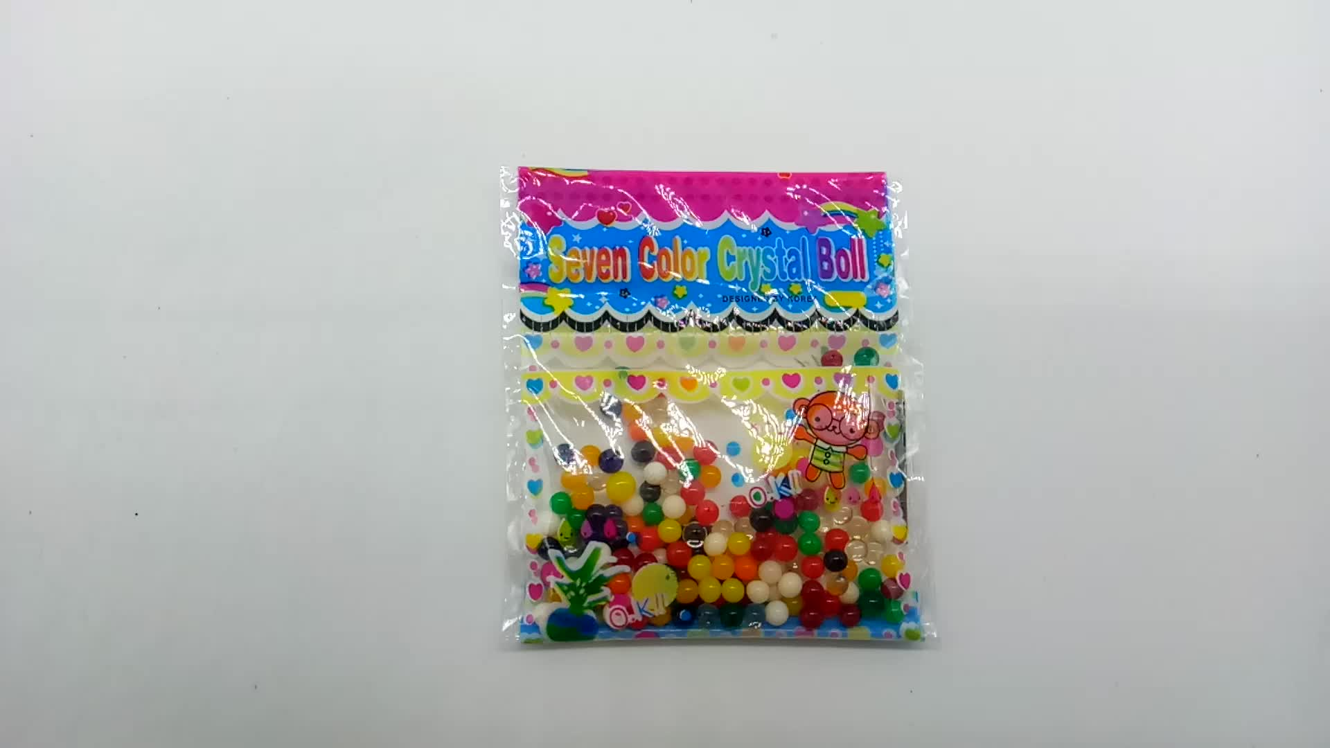 colored decorative Rainbow Water beads