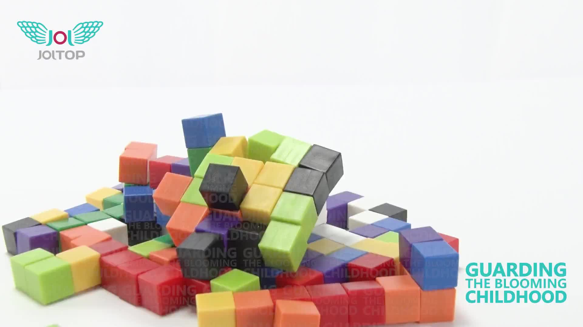 Magic cube 1.0 1.25cm Magnetic Math cubes toys for kids jigsaw puzzle montessori Educational Toys games