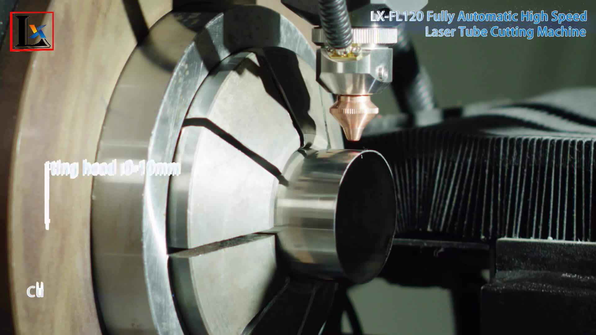 Fabrika fiyat Endüstriyel cnc otomatik besleme metal 5 eksenli 3d fiber lazer tüp boru kesme makinesi üreticileri MS