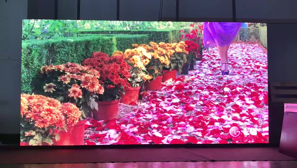 P3.91 indoor 500x1000 led display wall for stage rental events