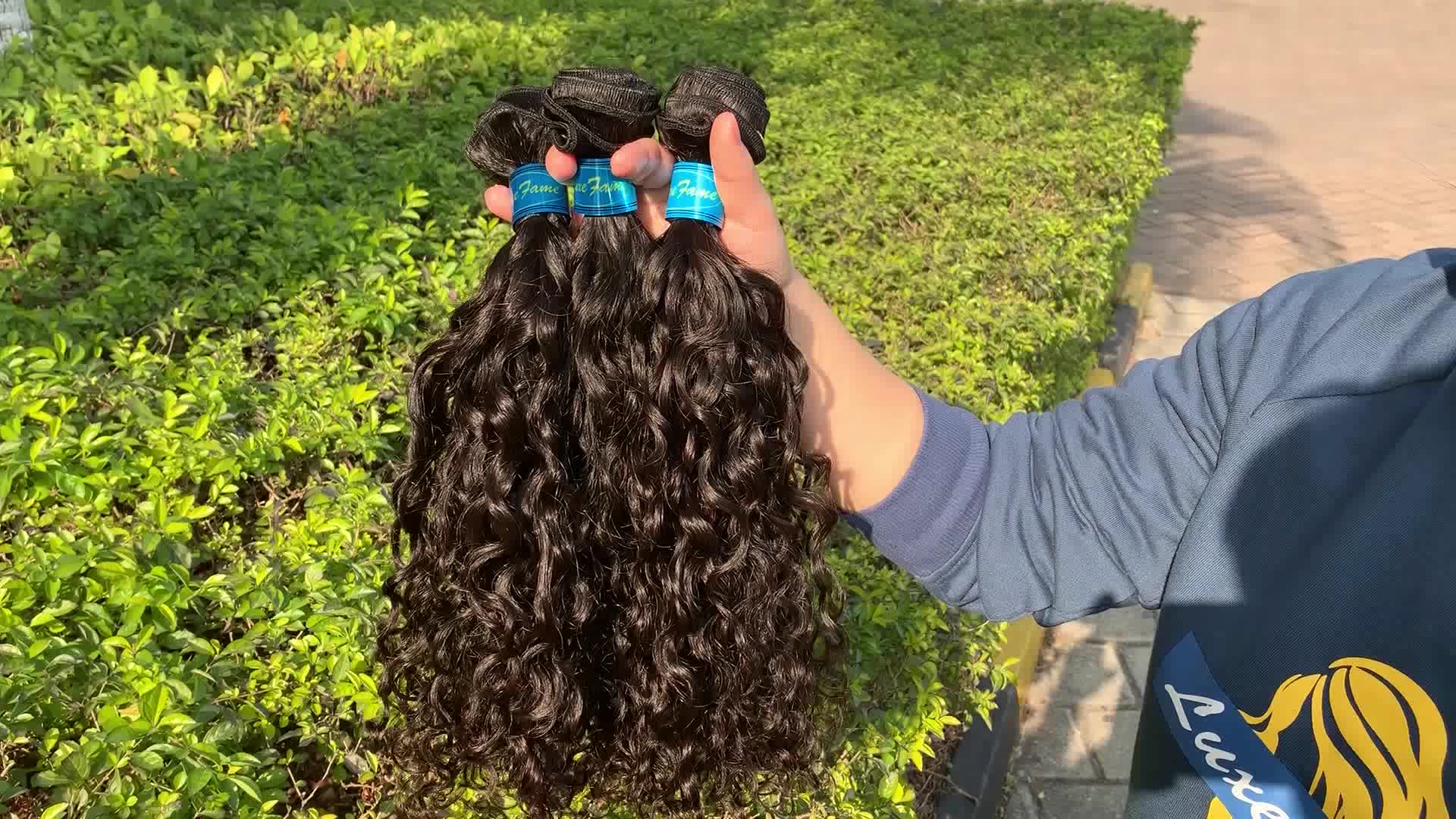 Free Shipping Brazilian Natural Wave Hair Weave Bundles Natural Color 100% Human Hair 1/3 Piece 10-30 inch Remy Hair Extension