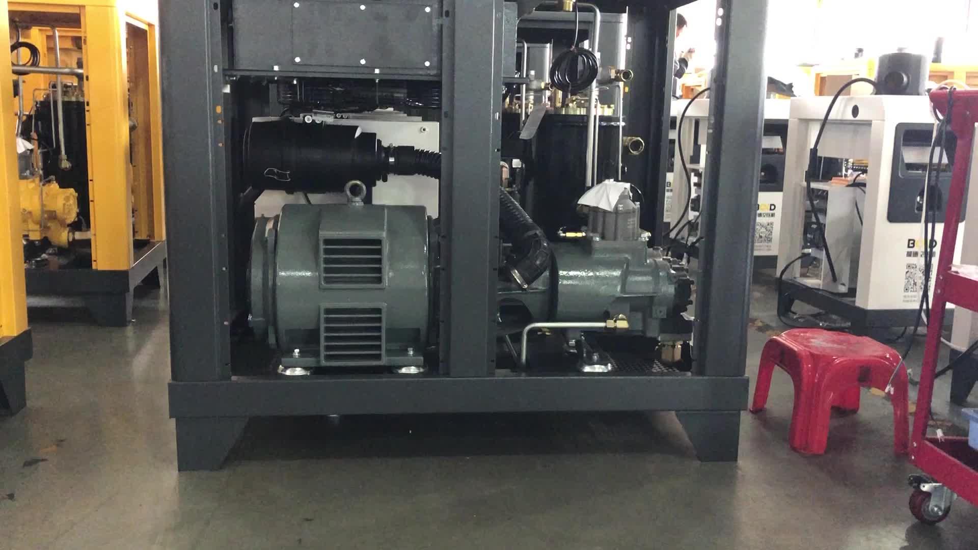 BALDOR Stille Elektrische Schroef Compressor 22KW 30HP BD-30A Elektrische Direct Gedreven 130CFM 220 V/380 V/415 v/440 V/460 V
