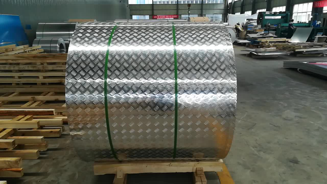 5 bar aluminum checkered plate 1060 3003  5052 5083 H32 H38 H321