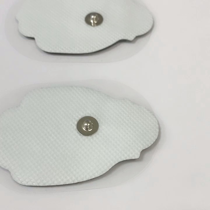 TENS/EMS Unit Electrode Pads Large Premium Replacement Tens Electrodes Reusable up to 25 Times per Electrode