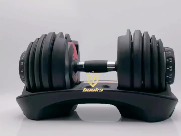 High Quality Automatically 24kg 40kg Adjustable Dumbbell