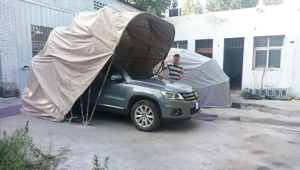 Outdoor SUV Folding Car Garage einziehbare Sonnenschutz Shelter Zelt
