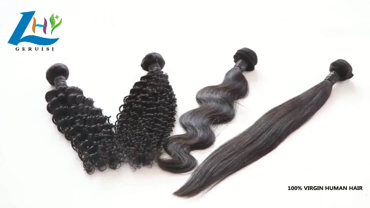 Hot Sale Product 8 to 32 Inch 12A Grade Brazilian Human Hair Unprocessed Virgin Natural Color Straight Hair Weave Wholesale