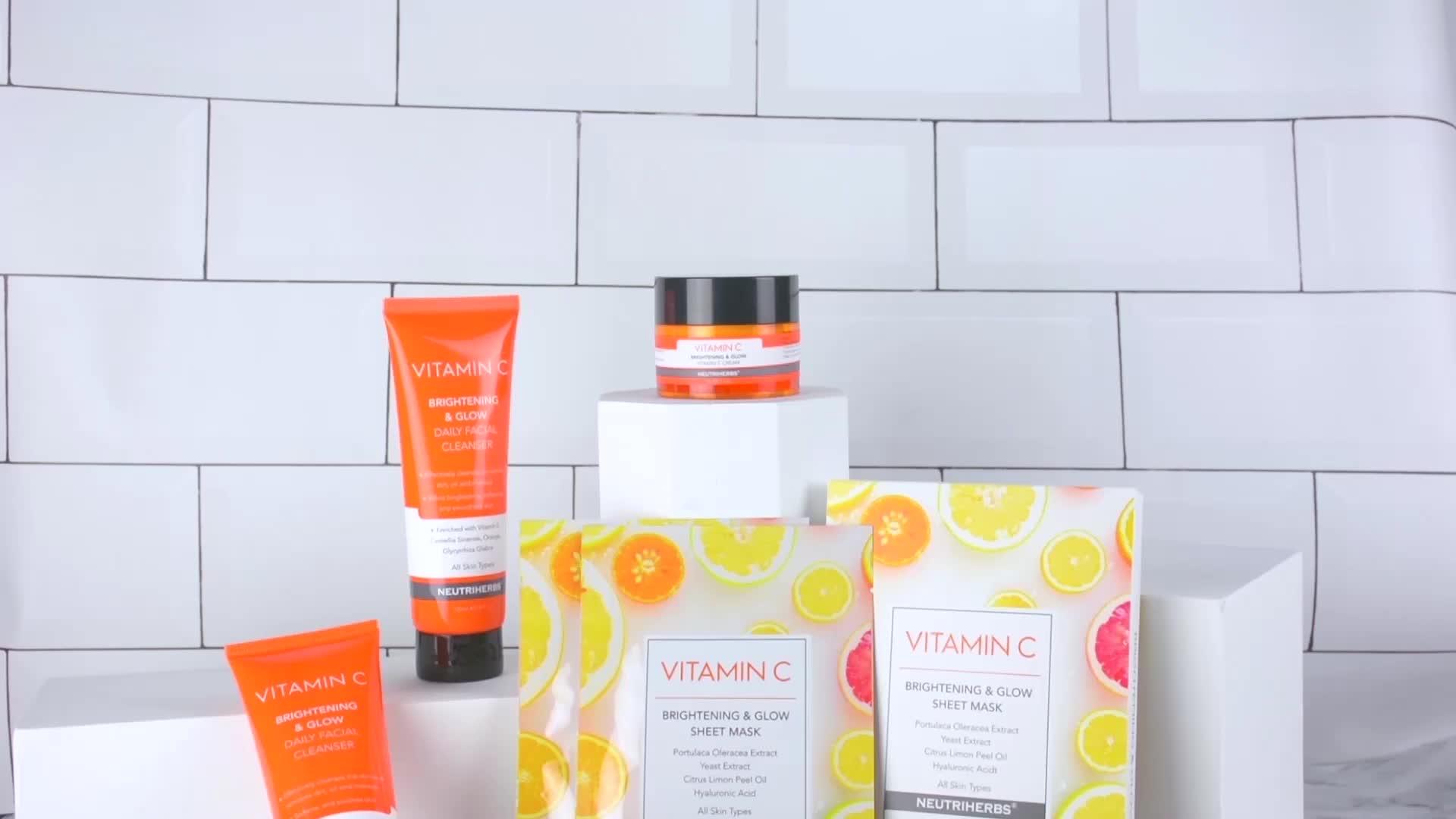Đánh Giá hàng đầu Vc Kem Làm Trắng Làm Sáng Da Mặt Chiếu Sáng Collagen Vitamin C Dành Cho Da Khô