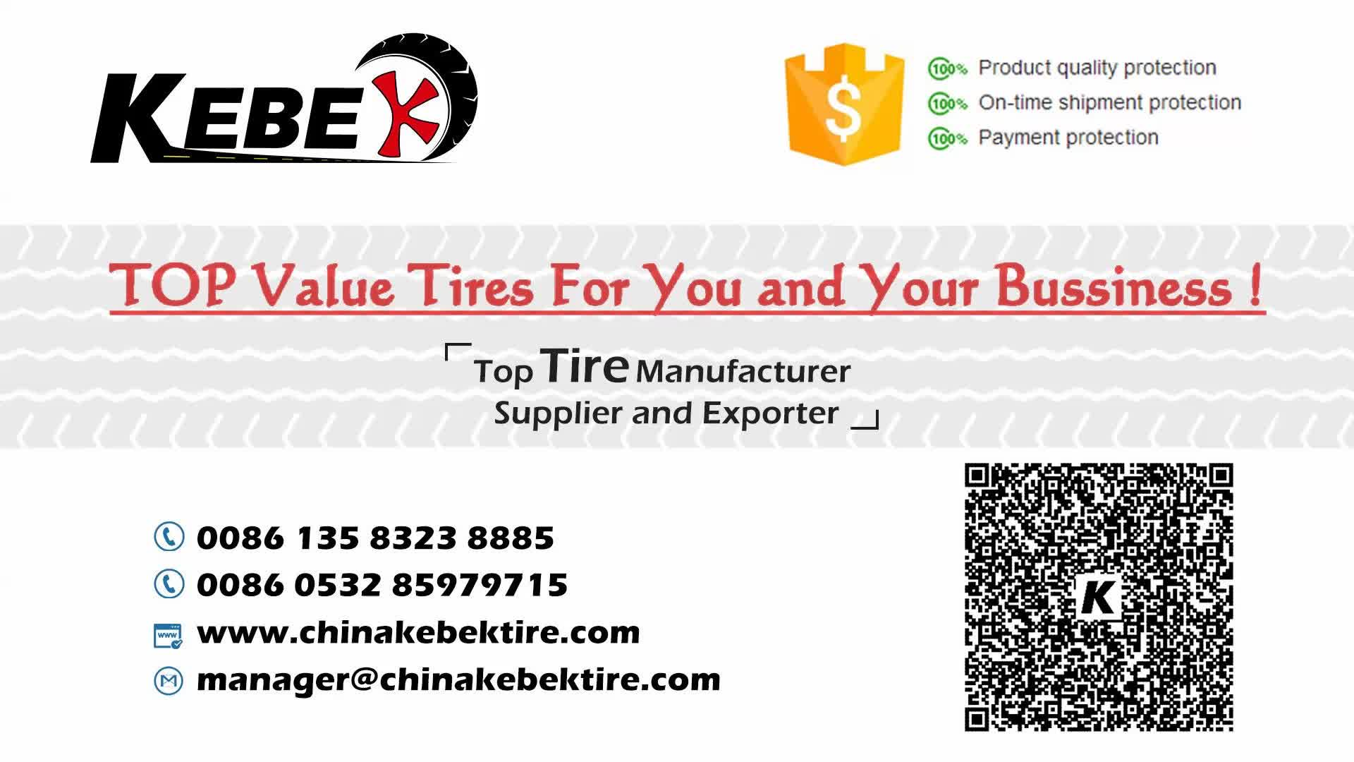 Premium brand KEBEK tire 195 65r15  With High Quality