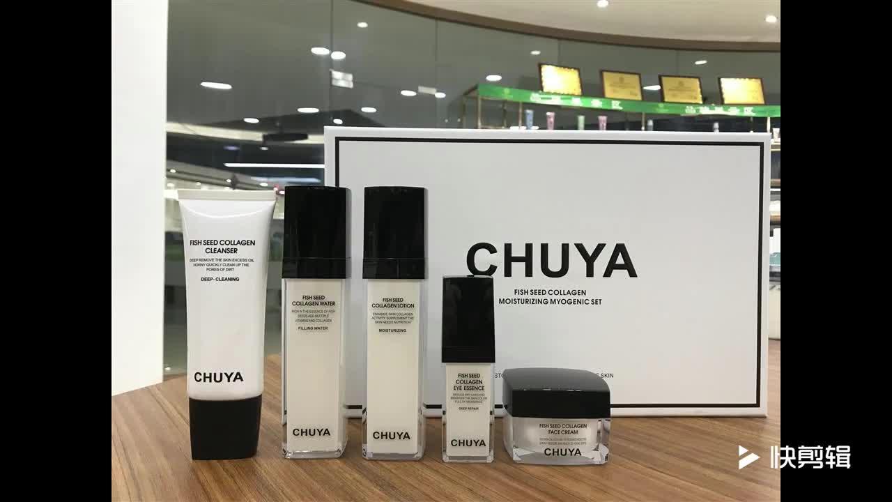 Nieuwe ontwerp 30 ml 50 ml 100 ml 30g 50g 100g Acryl fles cosmetische jar lotion set voor huidverzorging