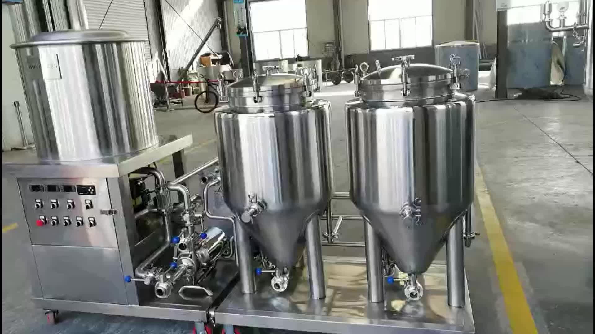 Evde bira yapma ekipmanı 100l 50l ev yapımı bira ekipmanları