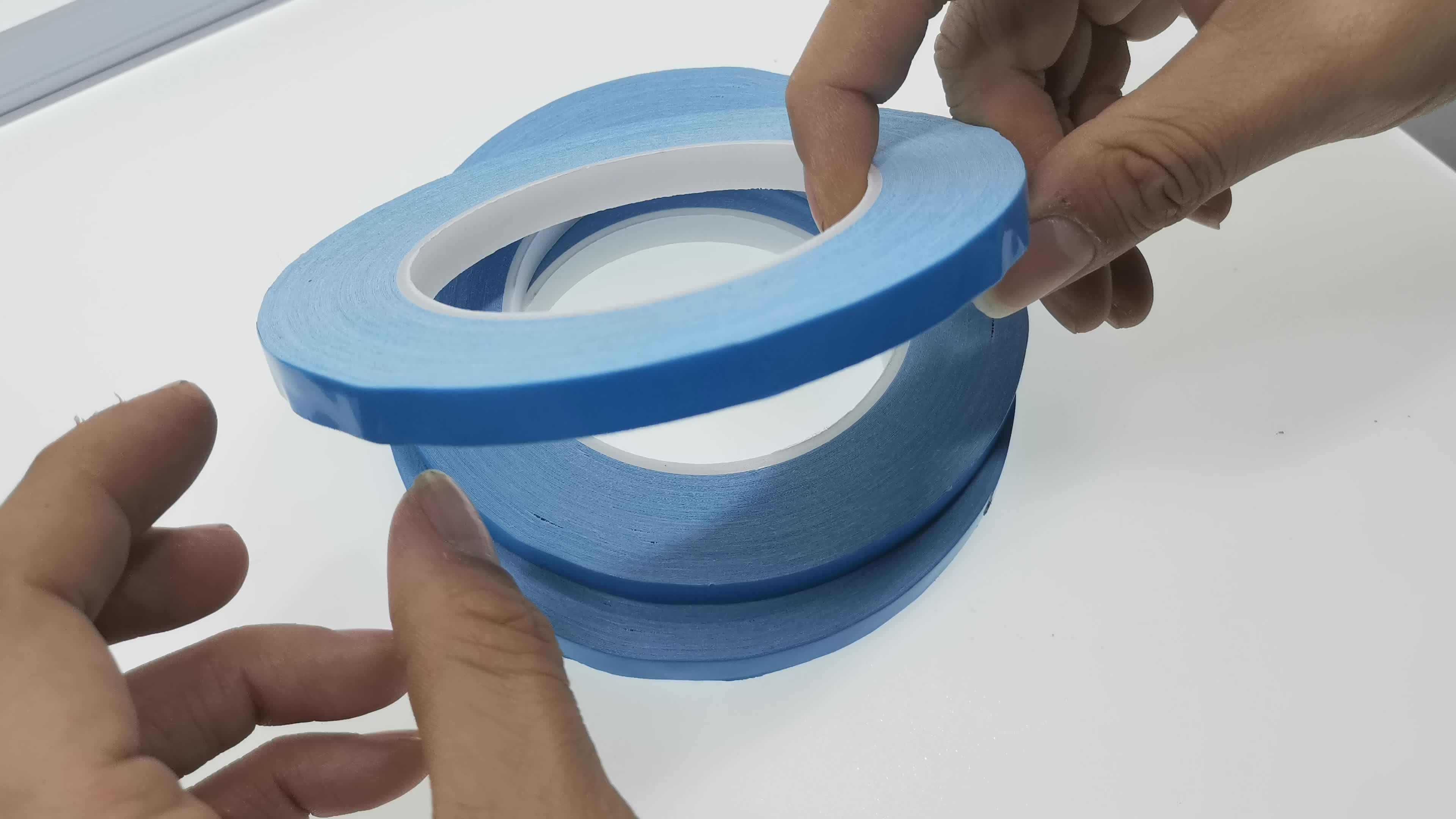 Factory Price Double Sided Adhesive Blue Film Thermal Tape For Led Light