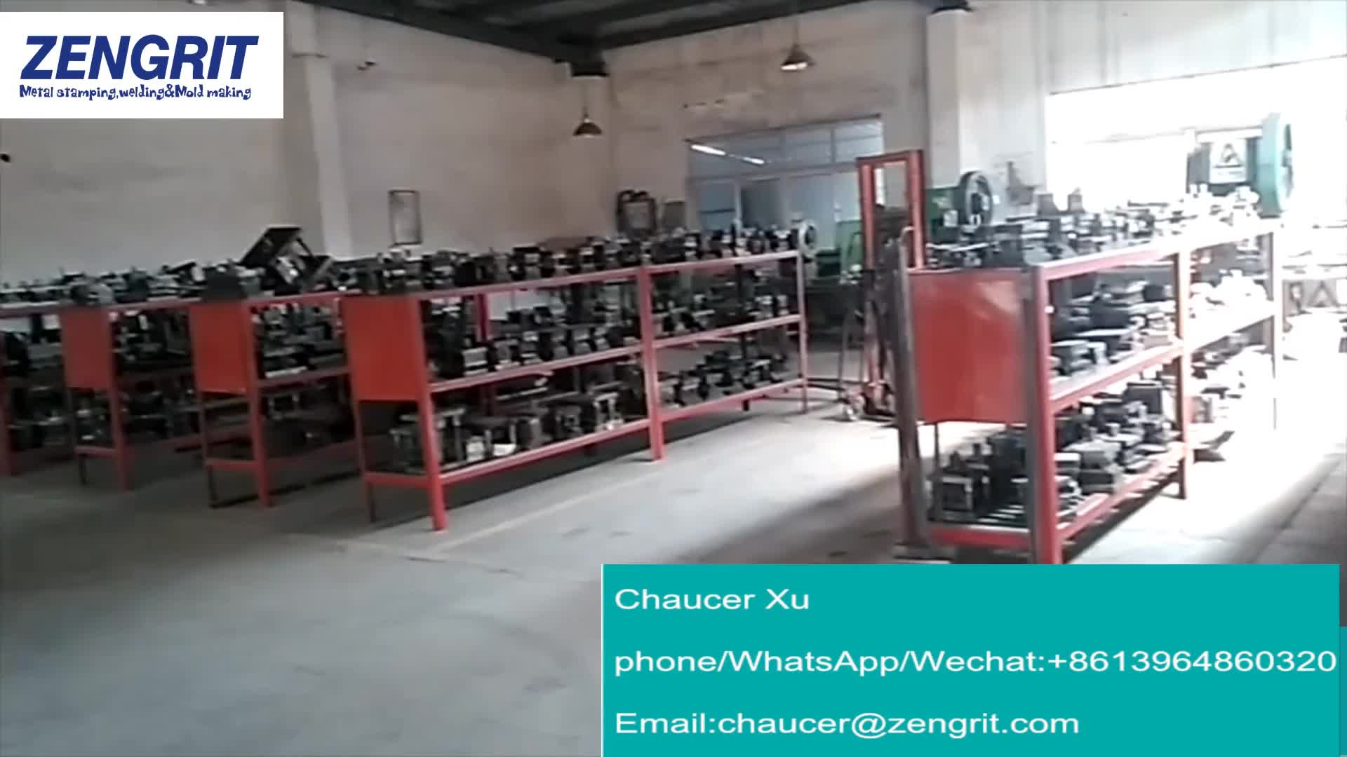 Custom Progressive Mold Steel  Metal Stamping Die Mould Making Factory In Qingdao City
