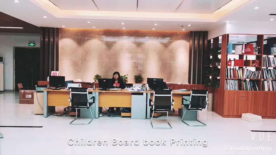 China  cheap custom children board write and wipe book printing