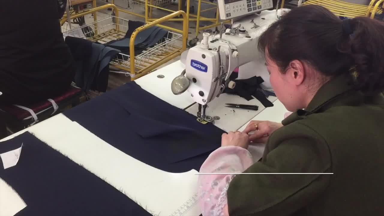 Nuovo 100% cotone cina Plaid pantaloni casual uomini pantaloni all'ingrosso