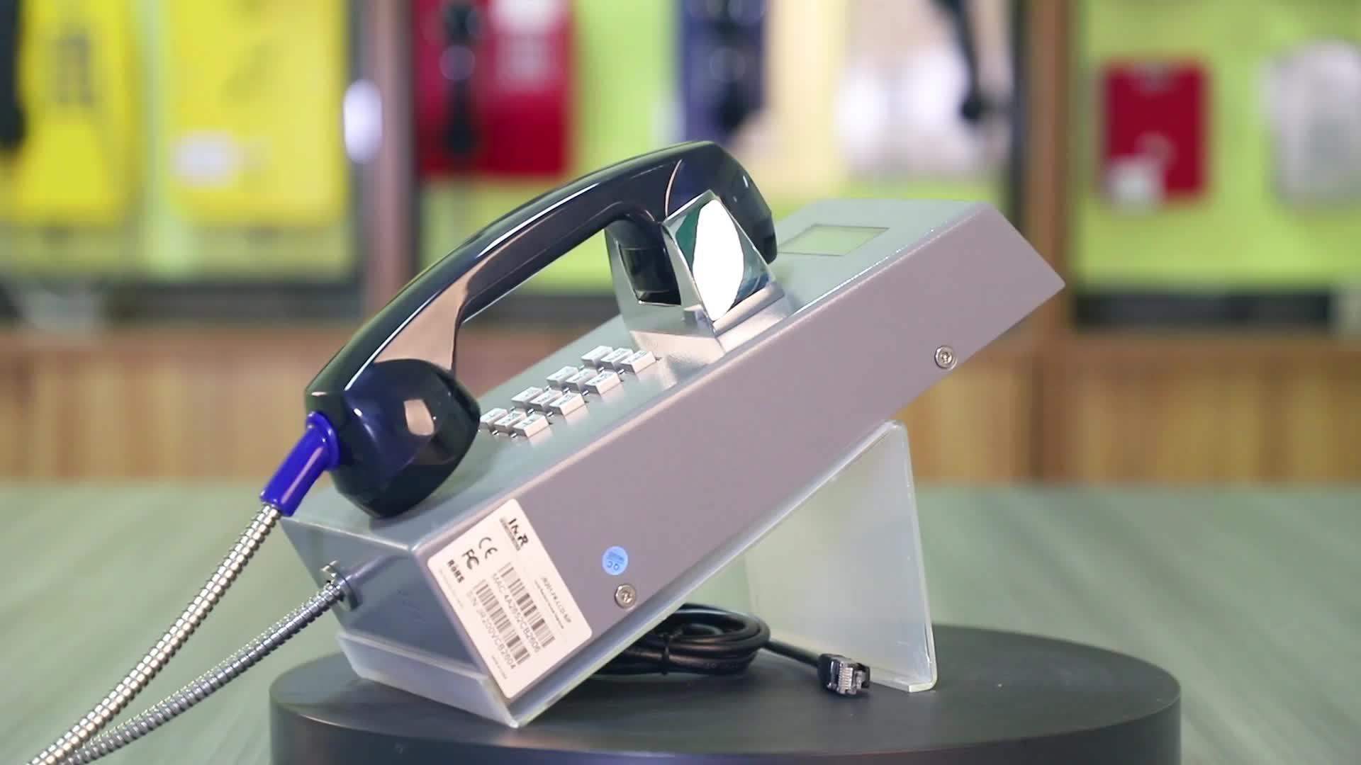 Chất lượng cao Chống Phá Hoại Nhà Tù VoIP Điện Thoại, Chắc Chắn Voice over IP Điện Thoại cho Jails, Phục Hồi Chức Năng Các Trung Tâm Điện Thoại
