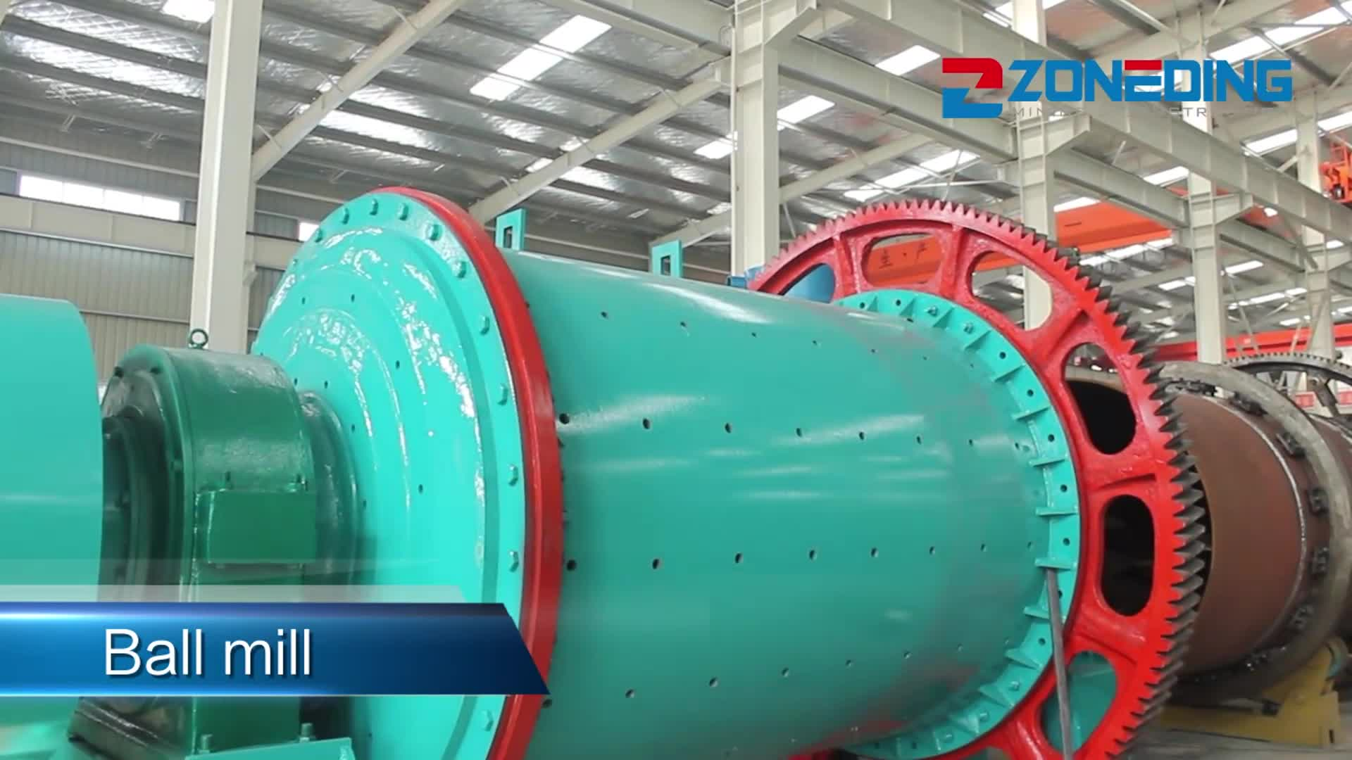 Energy saving 900*1800 grinding ball mill machine ball mill prices