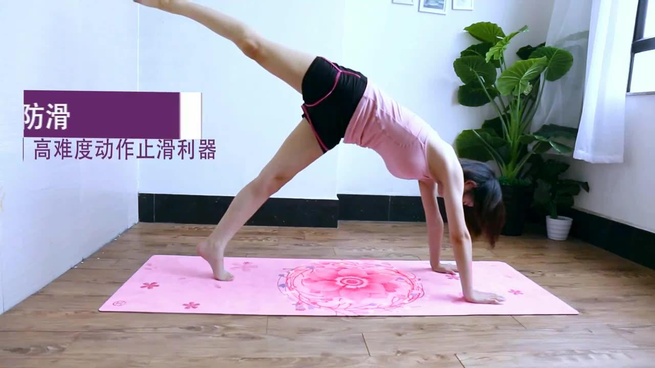 Mükemmel kalite son derece uygun maliyetli kapalı hareket fitness katlanır egzersiz Fitness yoga matı 6mm
