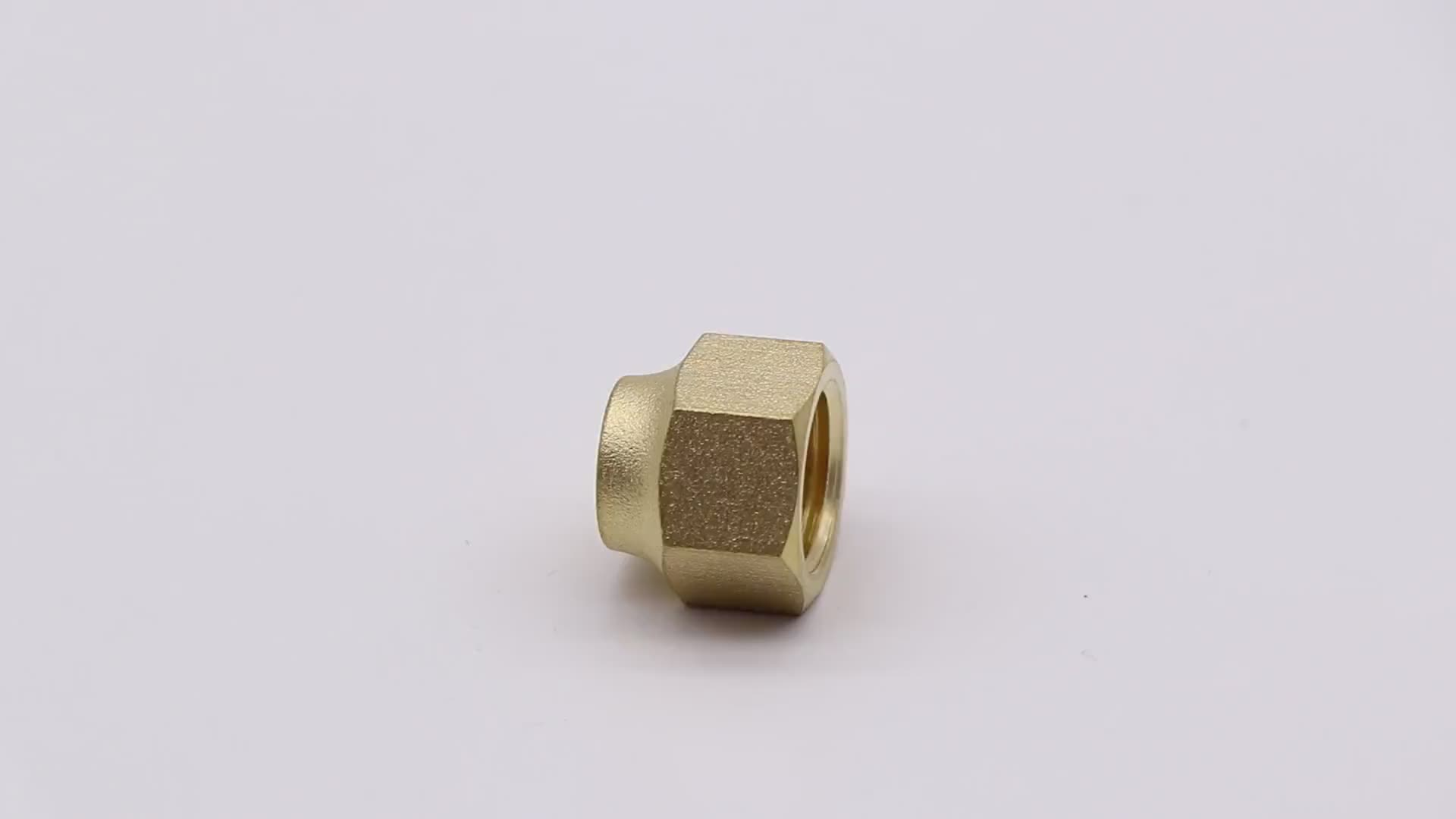 K511  hot sale brass flare fitting nut, copper pipe flare fitting for gas