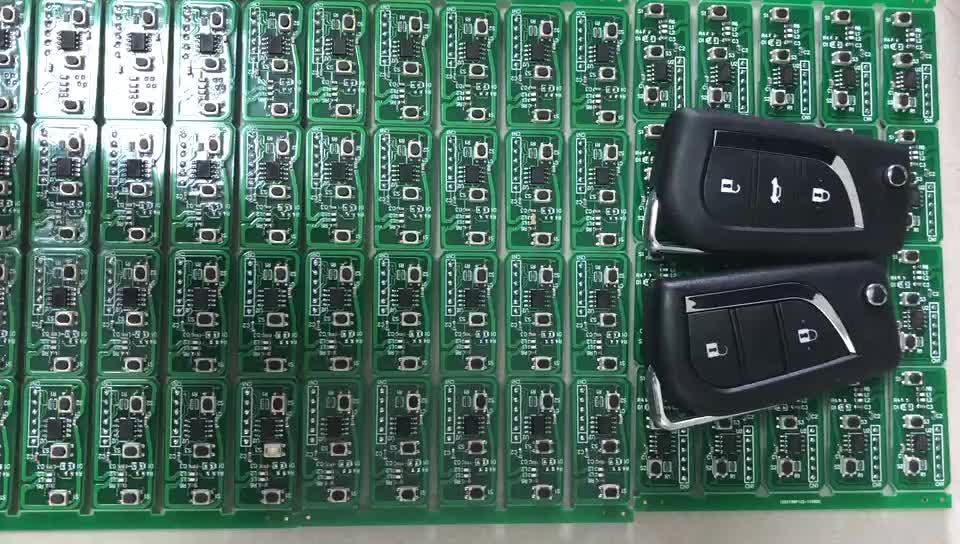 リモート制御部 433/315/315-LP/868 と 3 ボタンなしブレード 7953 ID44 チップ CAS2 システムリモート車キー bmw