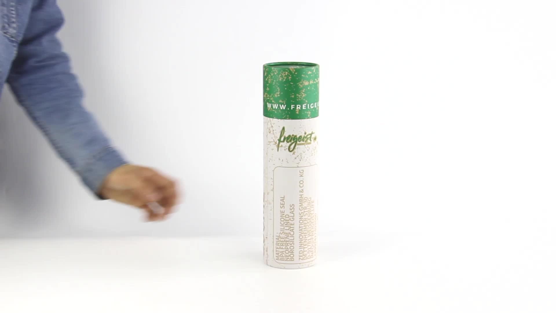 Factory wholesale printing lip balm packaging cardboard cosmetic tube