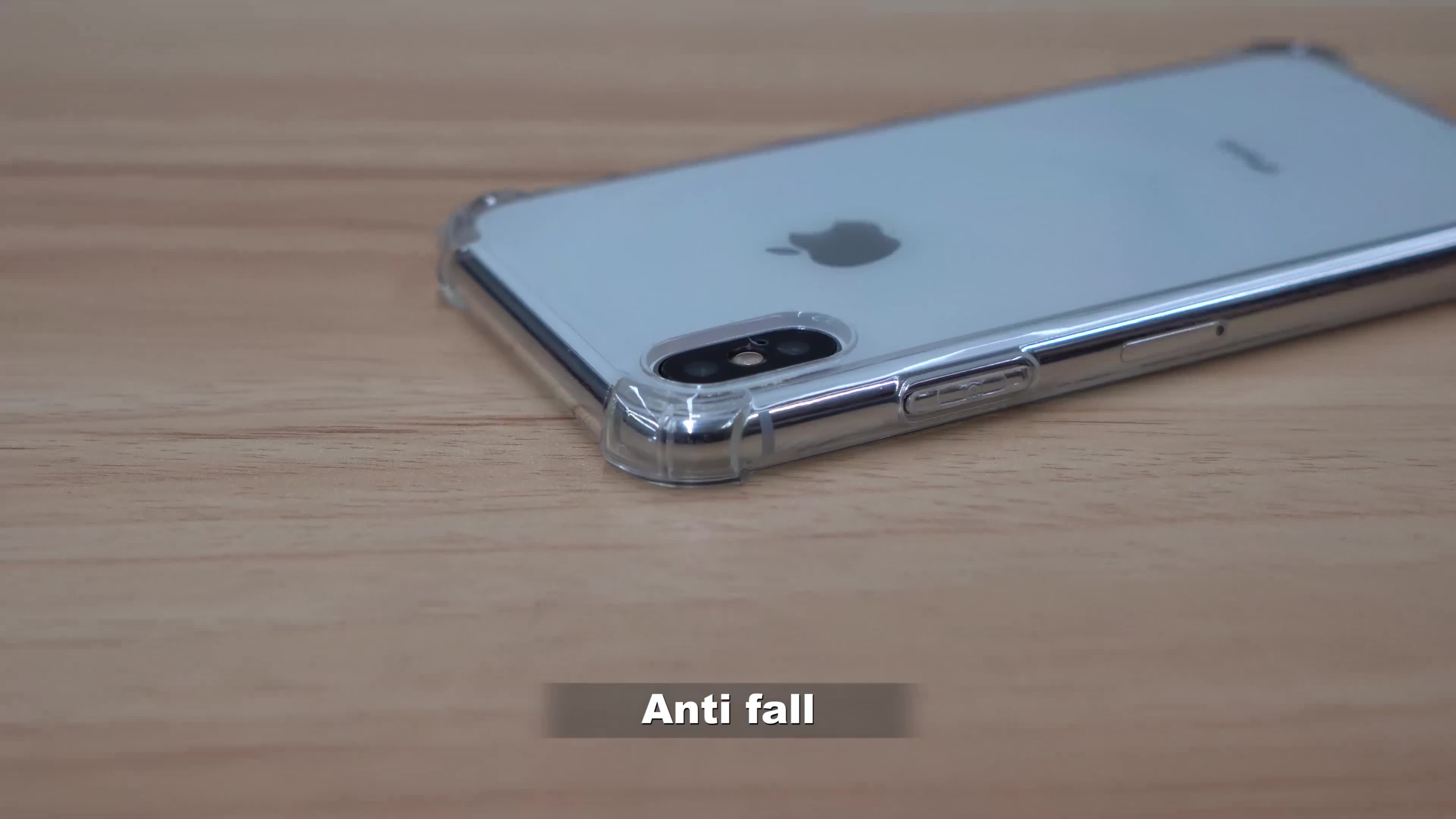 ซิลิโคนนุ่มโปร่งใส Ultra Thin TPU โทรศัพท์มือถือสำหรับ iPhone X/XS/XS plus