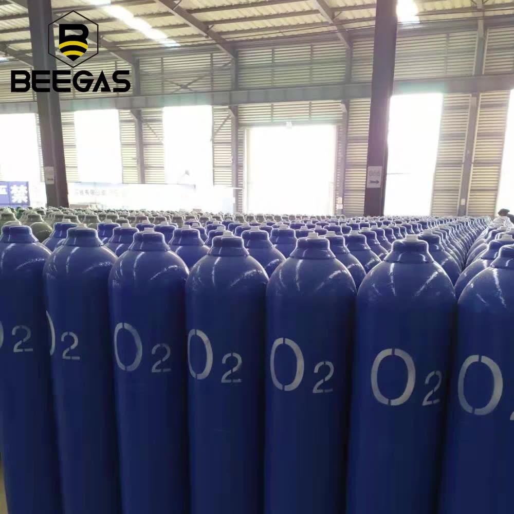 Tanque Balones De Oxigeno Medicinal 150Bar 6M3 99.999% Cilindros Para Oxigeno A Presion
