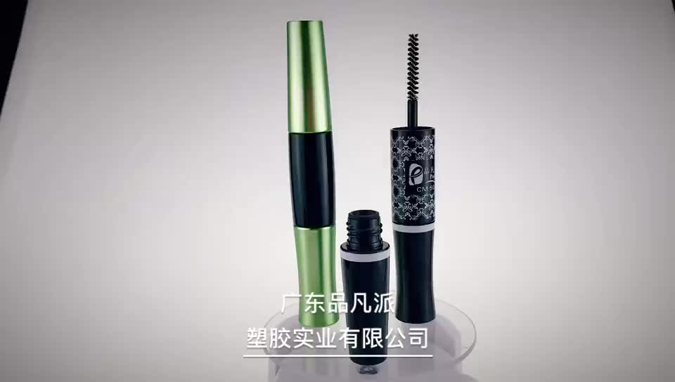 wholesale black double-side empty packaging mascara tube for sale
