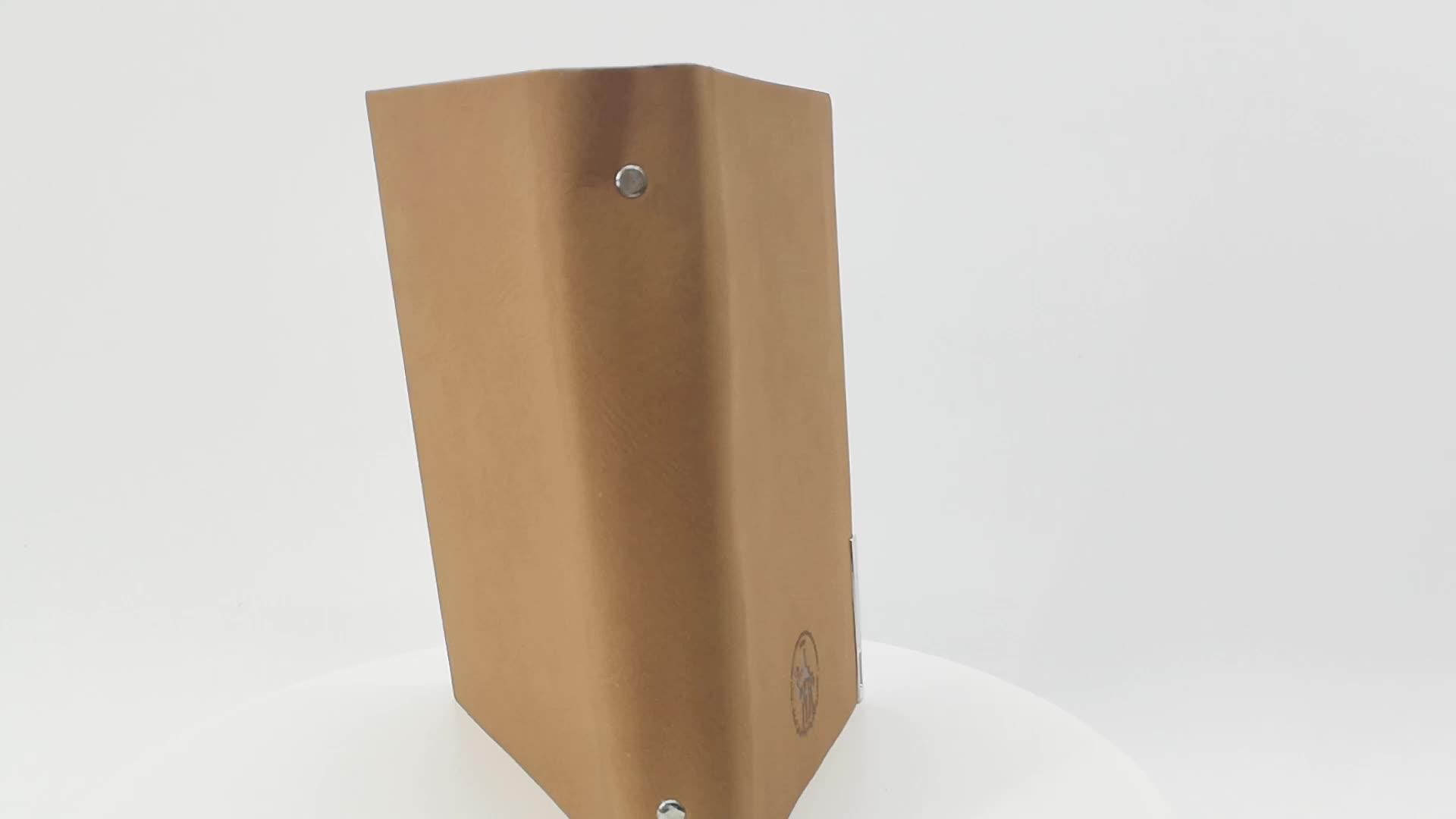 A5 Copertina Personalizzata Fornitore shanghai Imballaggio di Cuoio Dell'unità di elaborazione Diario In Bianco Notebook