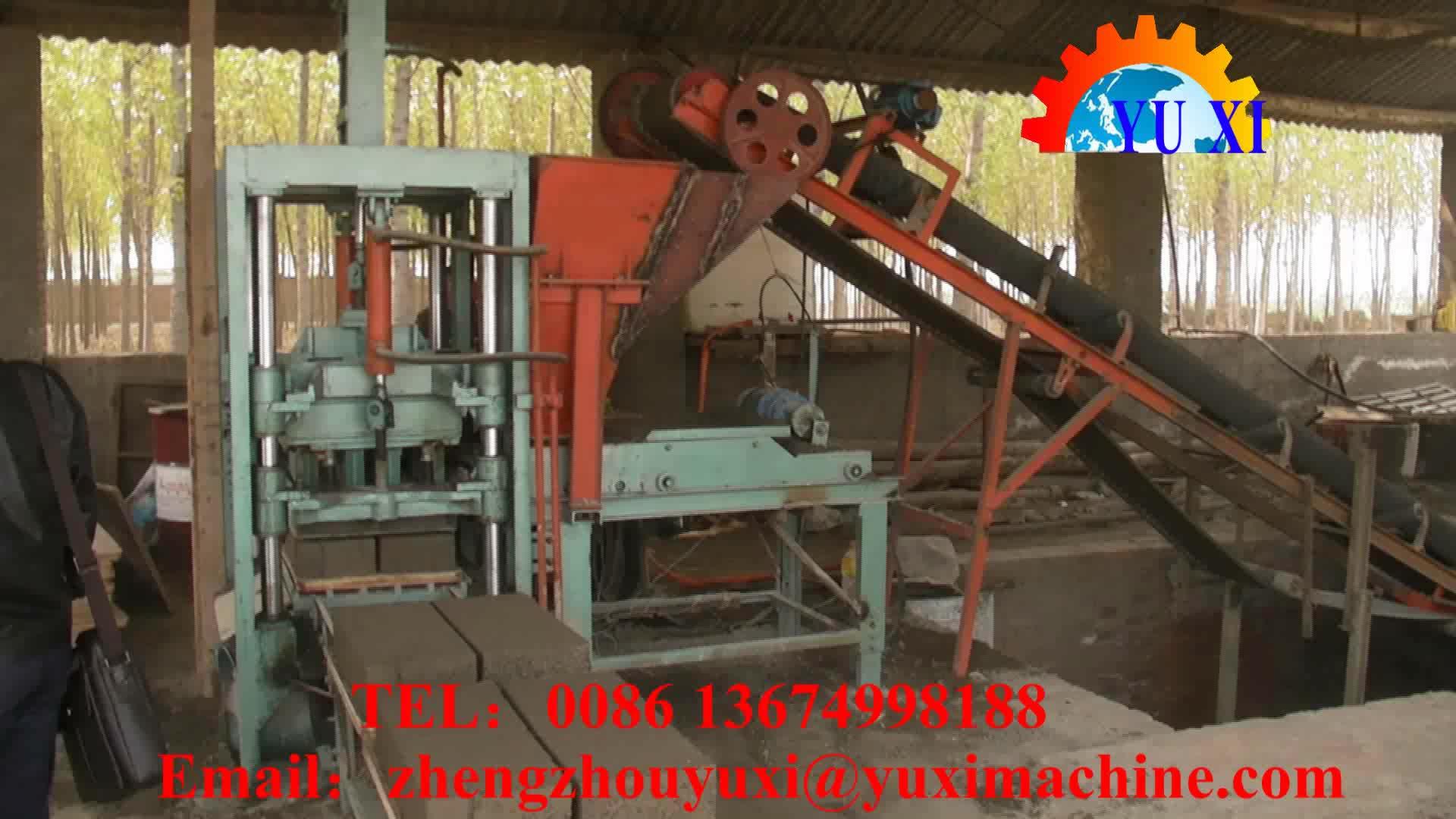 Rendement élevé QT10-15 Pression Hydraulique Automatique Brique Bloc Faisant La Machine