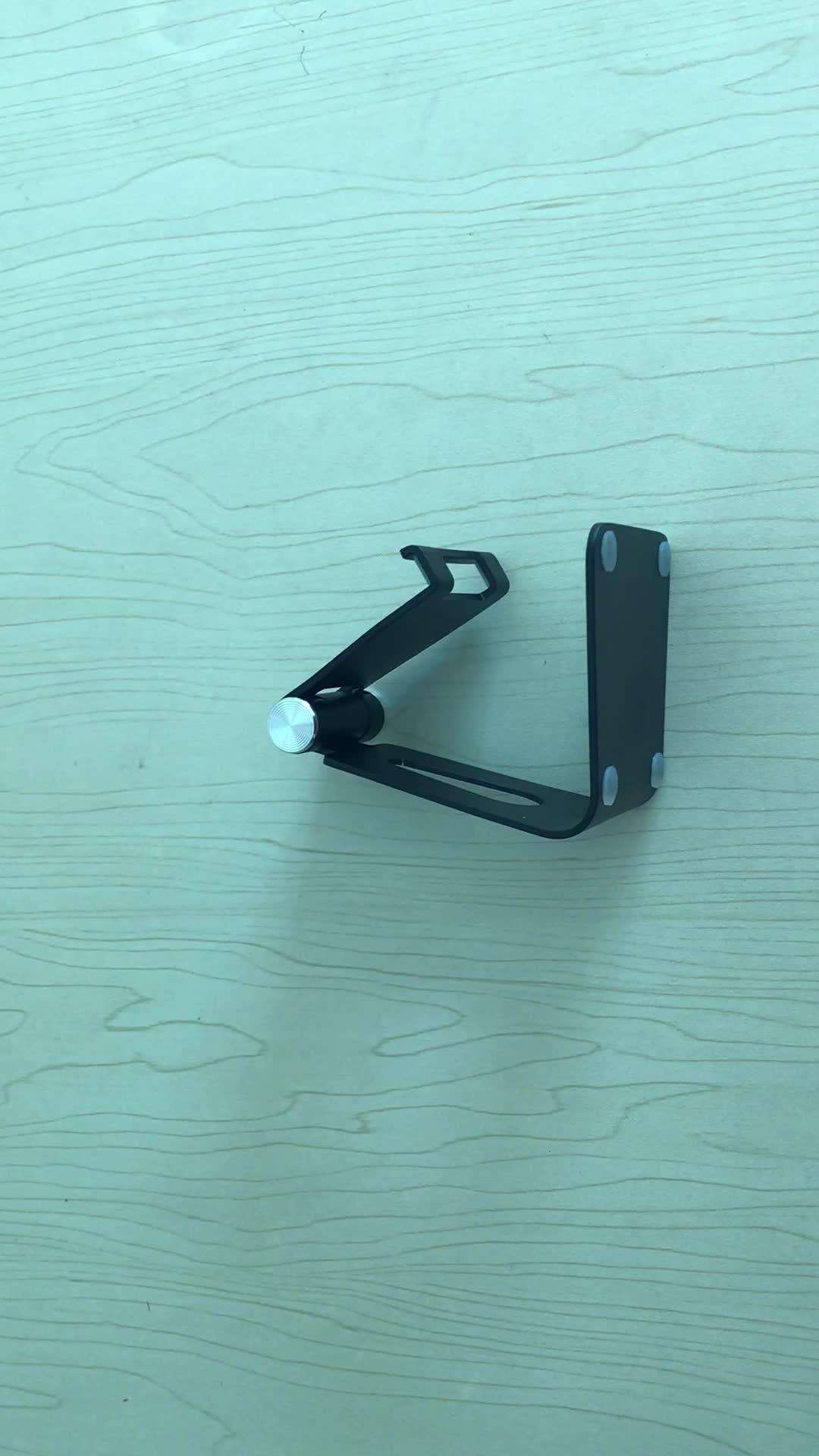 Groothandel Aluminium 180 graden Rotatie Desktop Tablet Standhouder Voor 8 inch Tablet en Telefoon