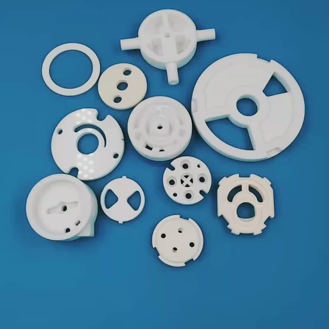 Piezoeléctricos pzt electrotérmica de cerámica de alúmina de disco piezo transductor de disco de cerámica