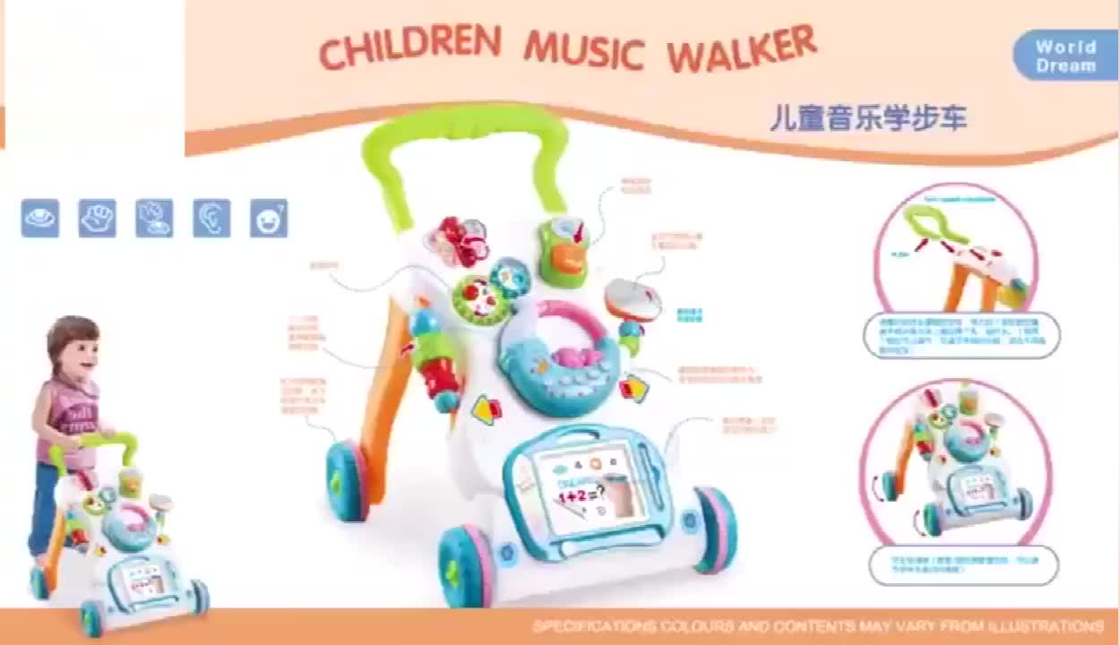 Wholesale Learning Activity Toy Walker Baby Multifunction