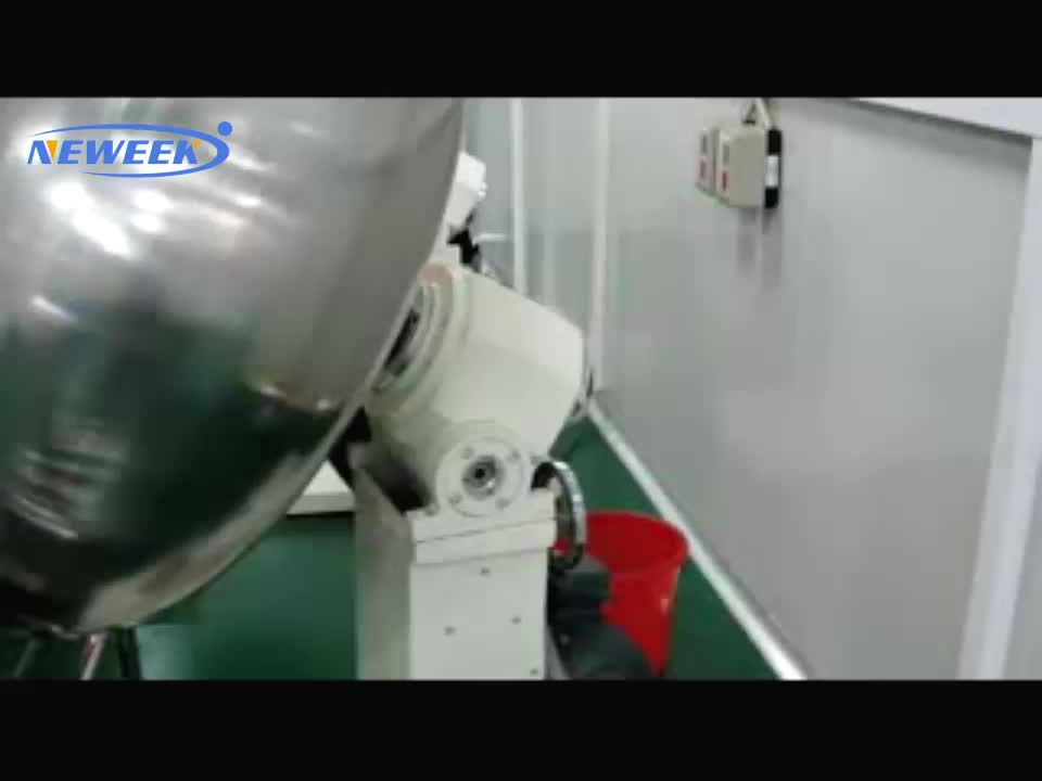 Neweek Made in china best quality stainless steel automatic roller Coated peanuts making machine with spray gun