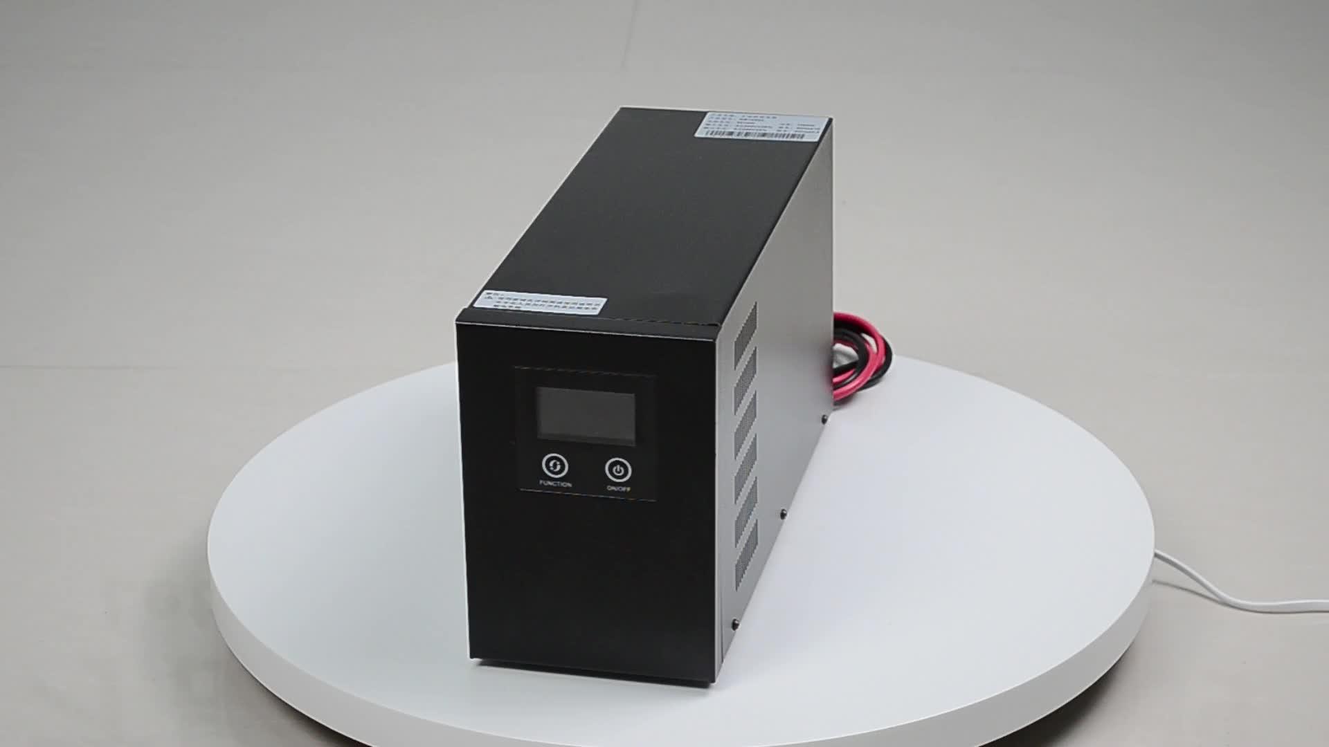 1kw 12V 24v 220v line interactive UPS com bateria externa, line interactive ups 700W 1KW 1.5KW