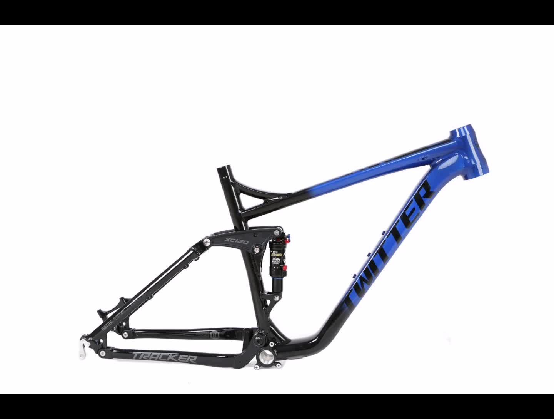 Shenzhen bike factory include DNM rear shox aluminium alloy mtb frame 27.5 29er  full suspension