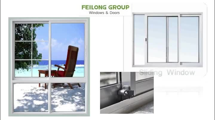 With Australia Standard Black Frame Aluminum Sliding Door