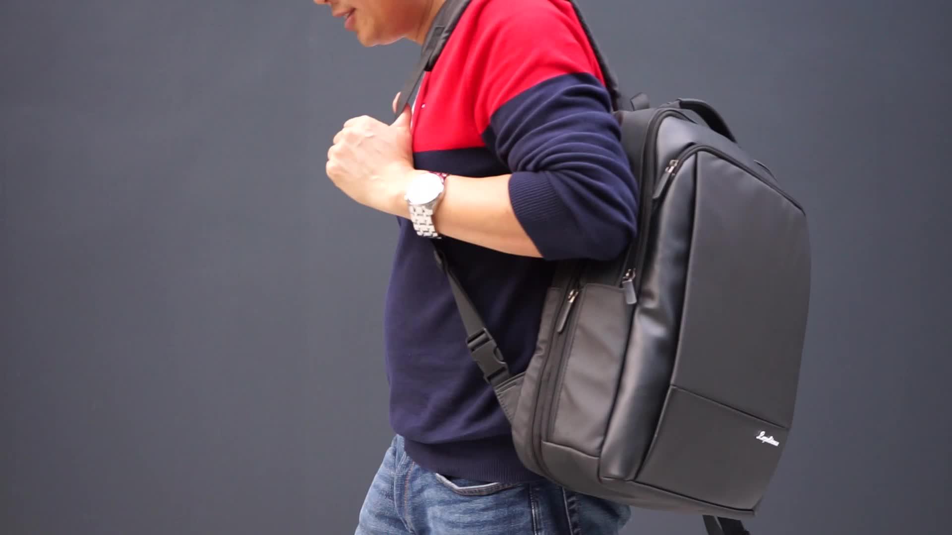 19SA-8442F SGS test fabrik wasserdichte material große kapazität schule laptop rucksack mit USB und wasserdichte zipper