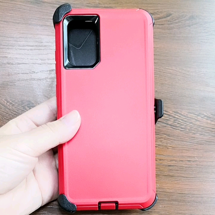 Galaxy note 10 plus defender fall, shock-Proof Schutz defender fall für Samsung Galaxy Note 10 Plus Hinweis 10 + mit clip